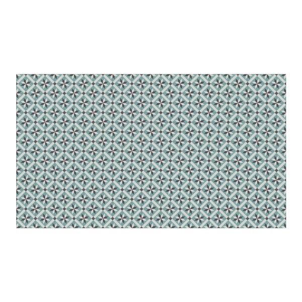 Vinylový koberec Abda Blue, 52x240 cm