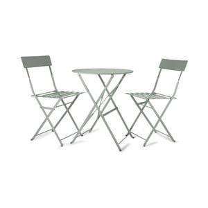 Zahradní stůl s 2 židlemi Rive Bistro Mint