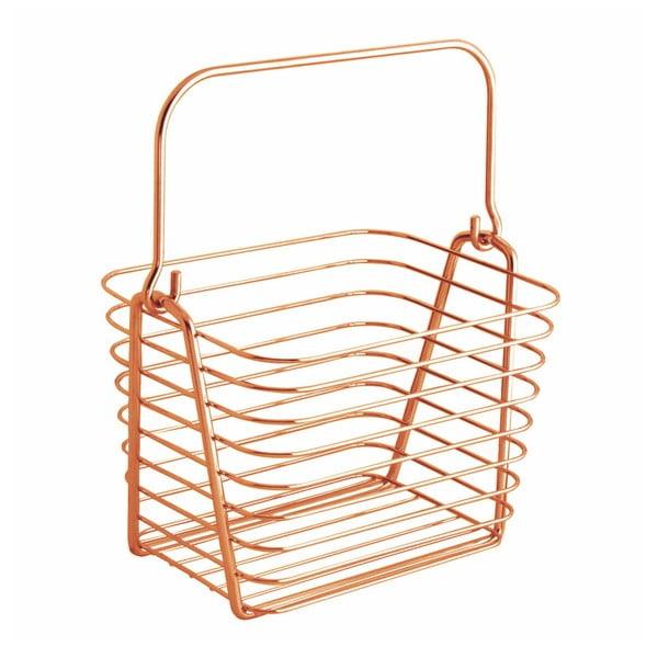 Coș InterDesign, portocaliu, 21,5 x 19 cm