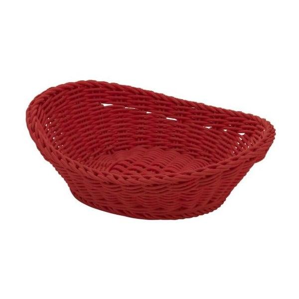 Košík Ovaler Red, 23,5x16x6,5 cm
