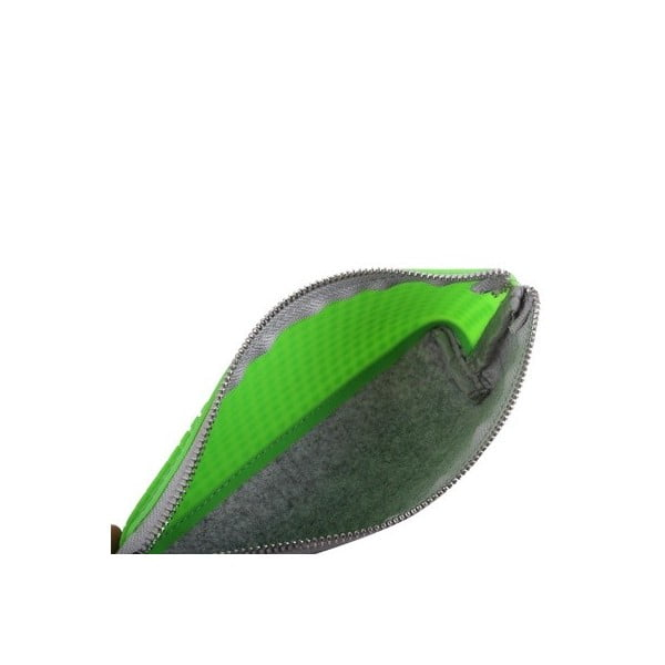 Pixelový penál, grey/apple green