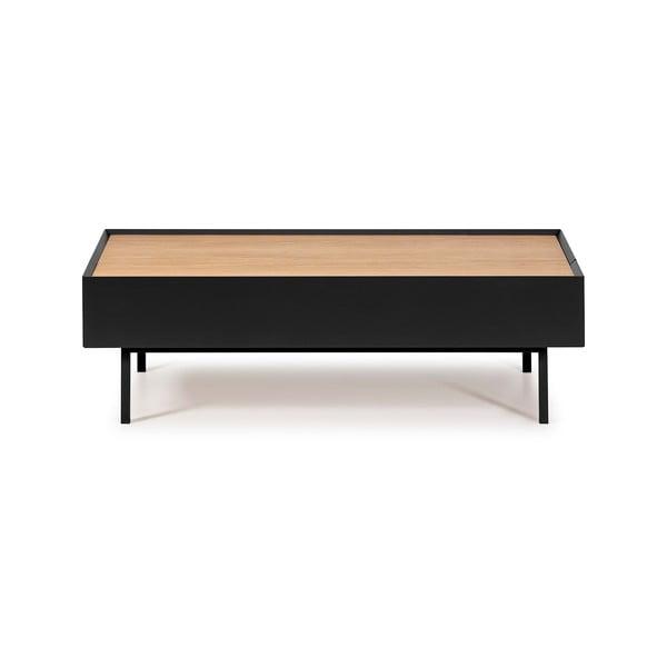 Černý konferenční stolek Teulat Arista