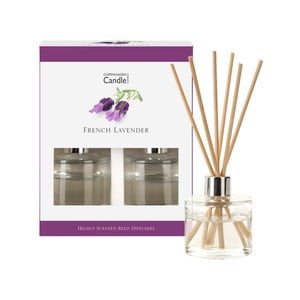 Set 2 difuzoare parfum Copenhagen Candles French Levander, 40 ml