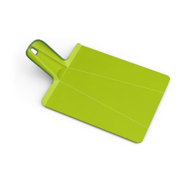 Chop2Pot Extra zöld összehajtható vágódeszka, hossz 48 cm - Joseph Joseph