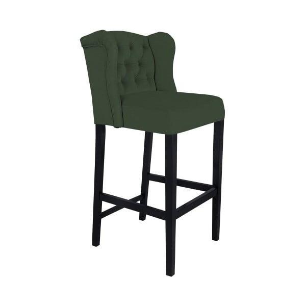 Zelená barová stolička Mazzini Sofas Roco