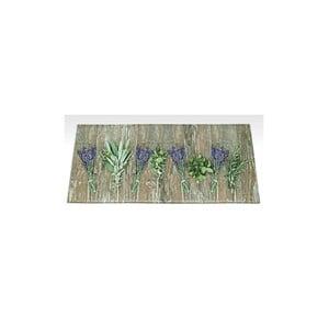 Vysoce odolný kuchyňský koberec Floorita Lavender, 60 x 115cm