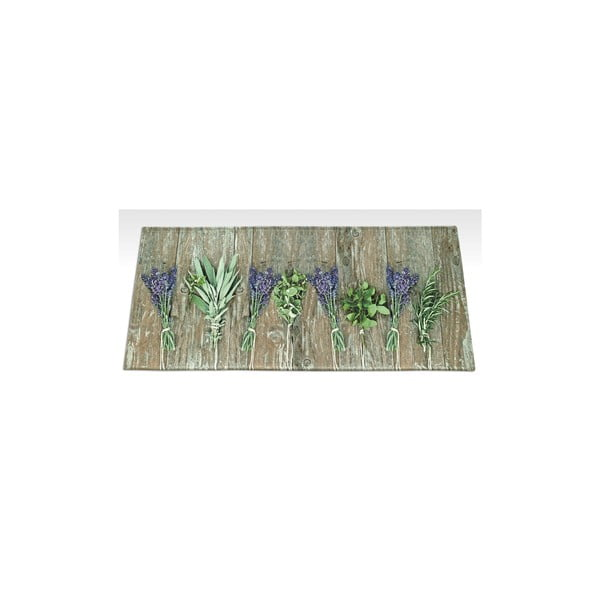 Vysokoodolný kuchynský behúň Webtappeti Lavender, 59,5×240cm