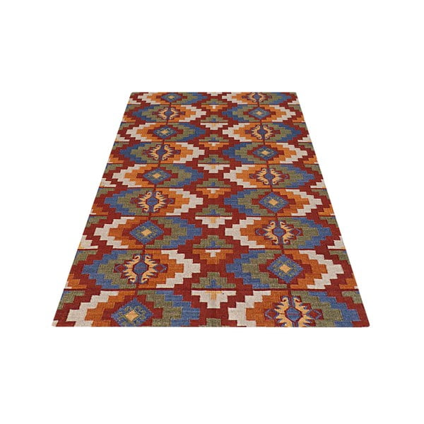 Vlněný koberec Kilim No. 737, 155x240 cm
