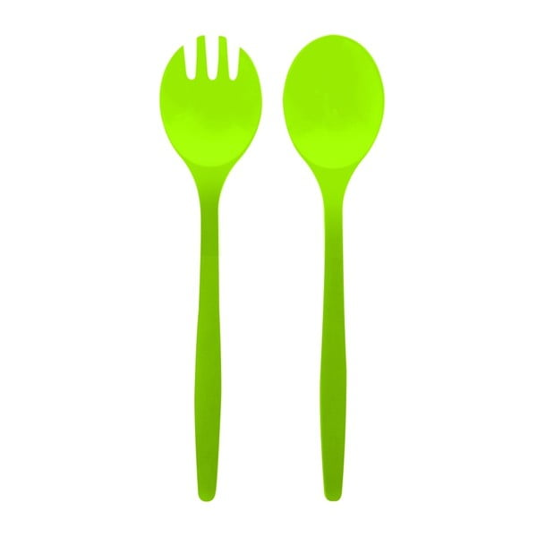 Salátový příbor Zak, zelený