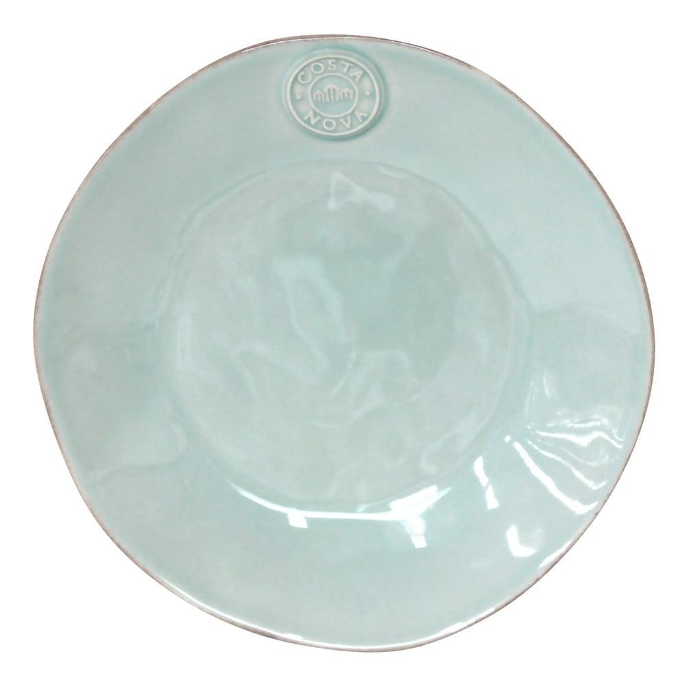 Tyrkysový kameninový dezertní talíř Costa Nova Nova,⌀21 cm Costa Nova