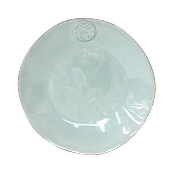 Farfurie din gresie ceramică pentru desert Costa Nova Blue, ⌀ 21 cm, turcoaz imagine