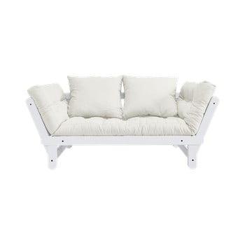 Canapea extensibilă Karup Design Beat White/Natural de la Karup Design