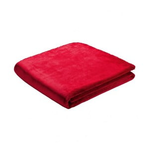 Pătură Biederlack Red, 170 x 130 cm