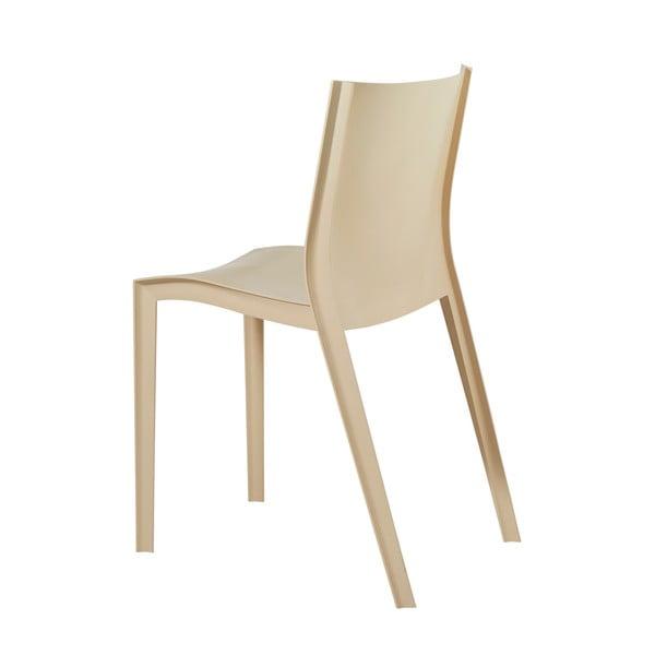 Sada 2 židlí Slick Slick, béžová