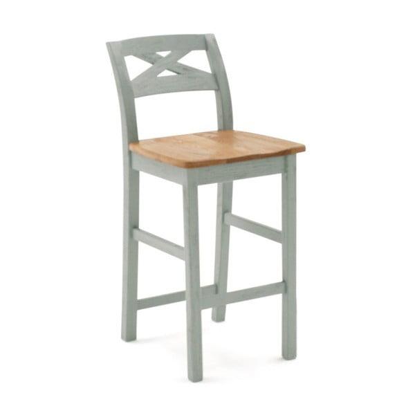 Barová stolička z masivního dřeva VIDA Living Monroe
