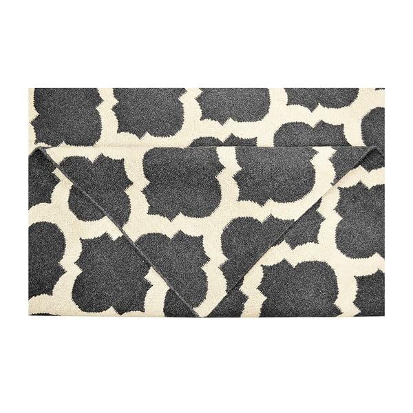 Vlněný koberec Julia Black, 155x240 cm
