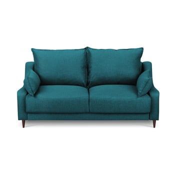 Canapea cu 2 locuri Mazzini Sofas Ancolie, turcoaz închis