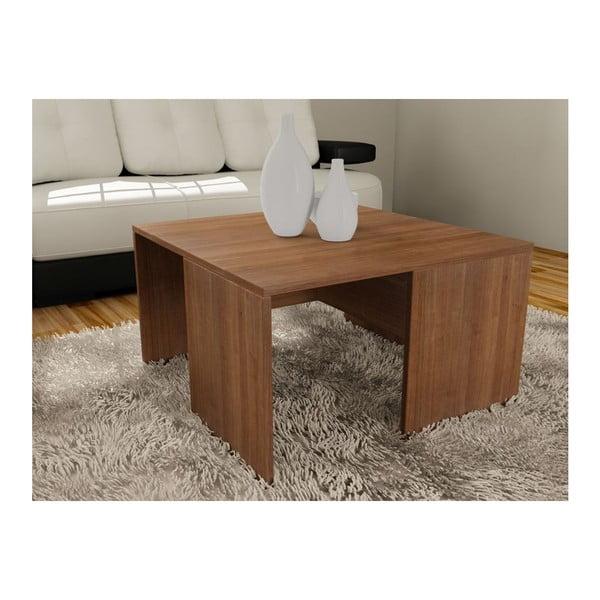 Konferenční stolek se 4 stoličkami Ortanca Walnut