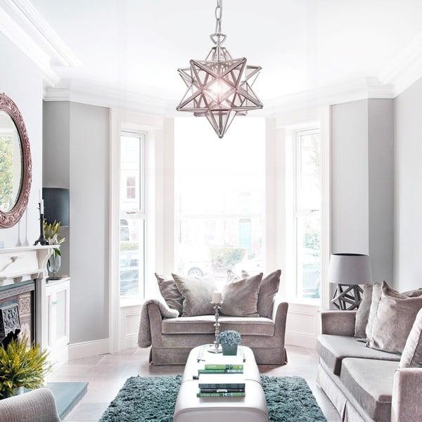 Ručně tvarované stropní svítidlo Evergreen Lights Stella