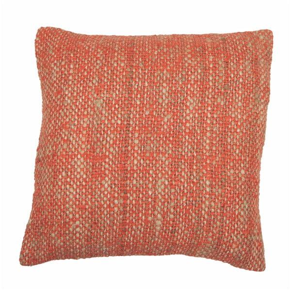 Pomarańczowa poszewka na poduszkę Tiseco Home Studio Chambray, 45x45 cm