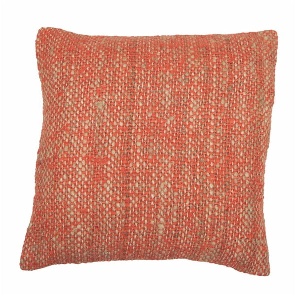 Față de pernă Tiseco Home Studio Chambray, 45 x 45 cm, portocaliu