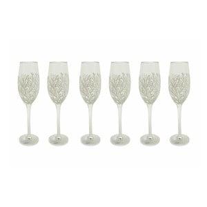 Sada 6 sklenic na šampaňské Villa d'Este Mare,205ml