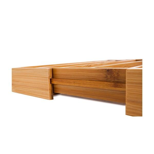 Suport din bambus pentru tacâmuri Bambum Casilias, 25,5 x 35,5 cm