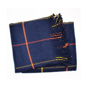 Deka Check Navy Blue, 140x180 cm