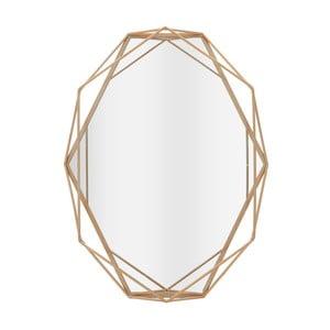 Nástěnné zrcadlo s detaily ve zlaté barvě InArt Beyhive