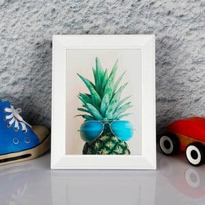 Zarámovaný obraz Dekorjinal Pouff Peanapple With Glasess, 23x17cm