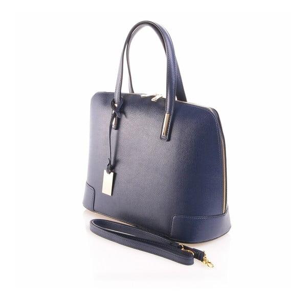 Kožená kabelka Olga, modrá