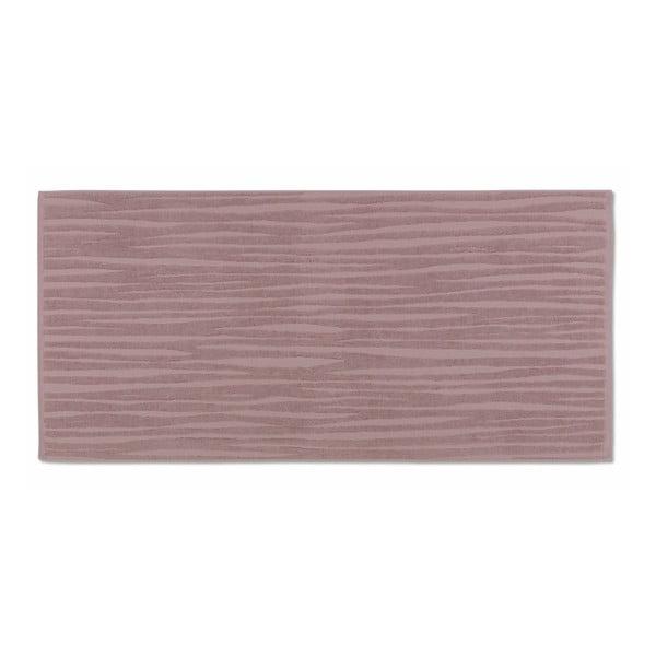 Růžový ručník Kela Lindano, 50x100cm