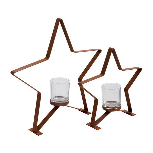 Sfeșnic J-Line Star Metal S