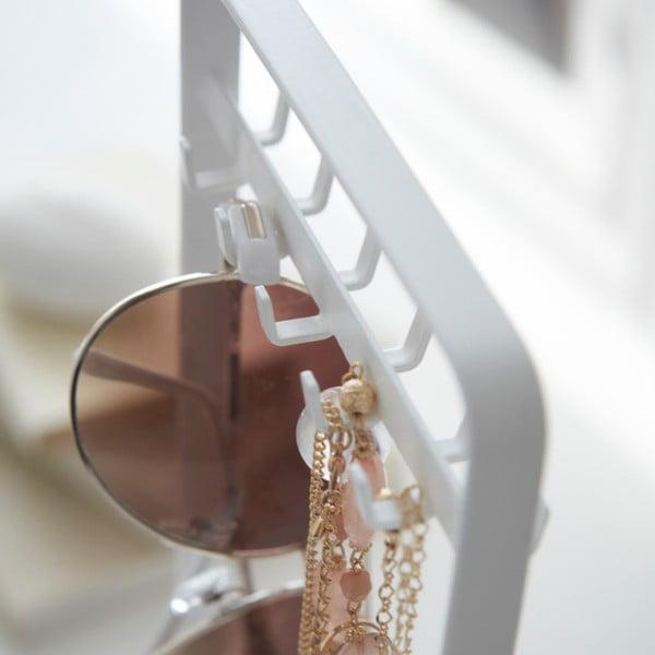 Bílý stojánek na šperky Yamazaki Tower