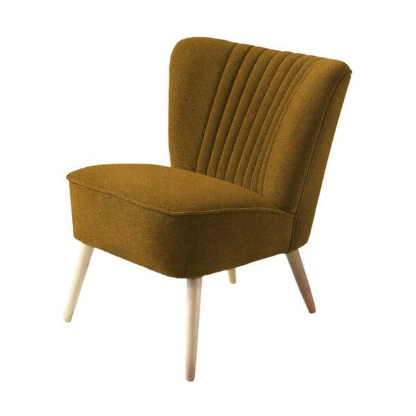 Harry sötét mustársárga fotel - Costum Form