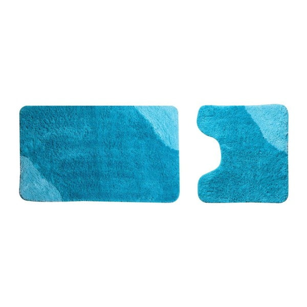 Sada 2 ks koupelnový předložek Acus Turquoise