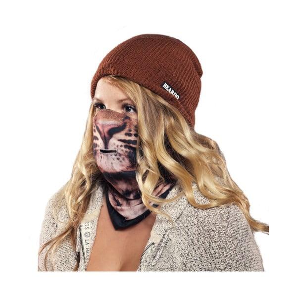 Lyžařská maska Beardo Leopard