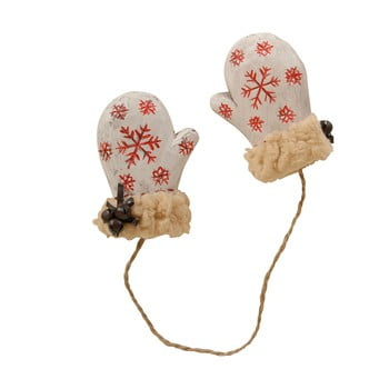 Mănuși decorative suspendate Antic Line Natural