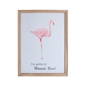 Dřevěný rámeček Maiko Flamingo