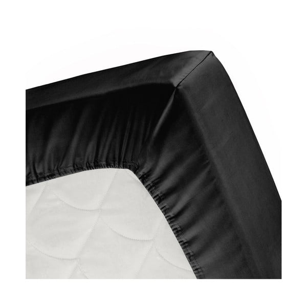 Prostěradlo Cinderella Black, 180x200 cm
