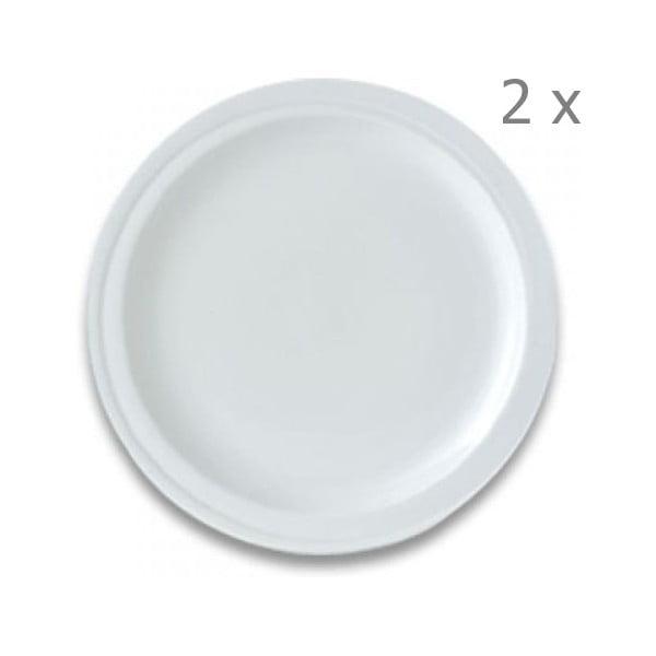 Set porcelánových talířů Orion, 21,5 cm,  2 ks