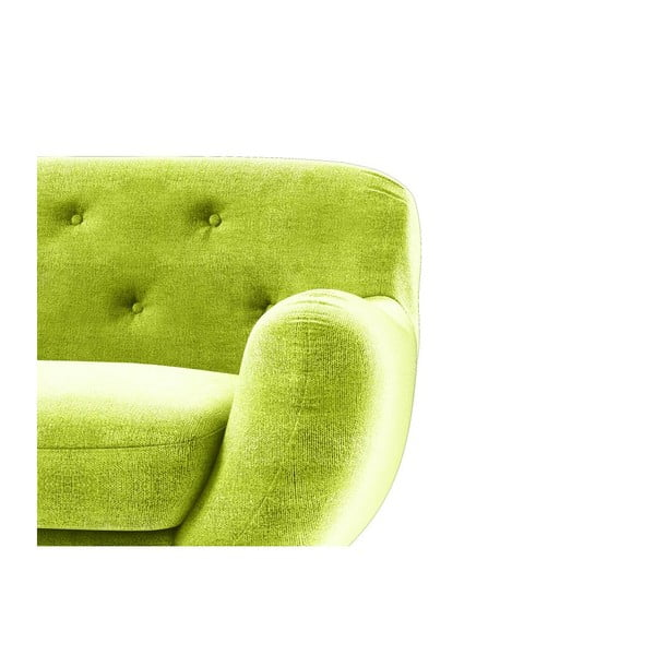 Křeslo Zefir, zelené