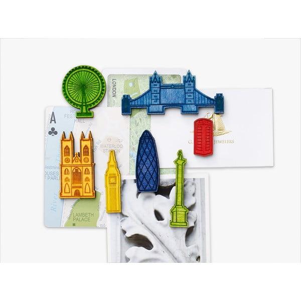 Sada 7 magnetů Design Ideas Landmark London