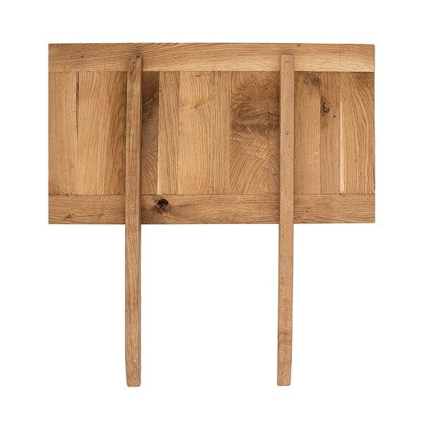 Přídavná deska ke stolu Idallia Oak 180x90 cm