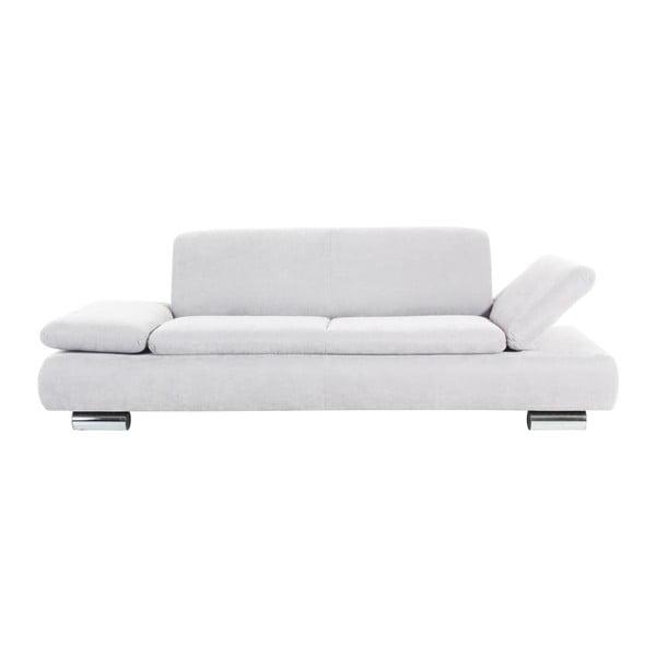 Canapea cu 3 locuri Max Winzer Terrence Anderson, cotiere ajustabile, crem
