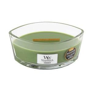 Lumânare parfumată WoodWick, aromă de pin, 80 ore