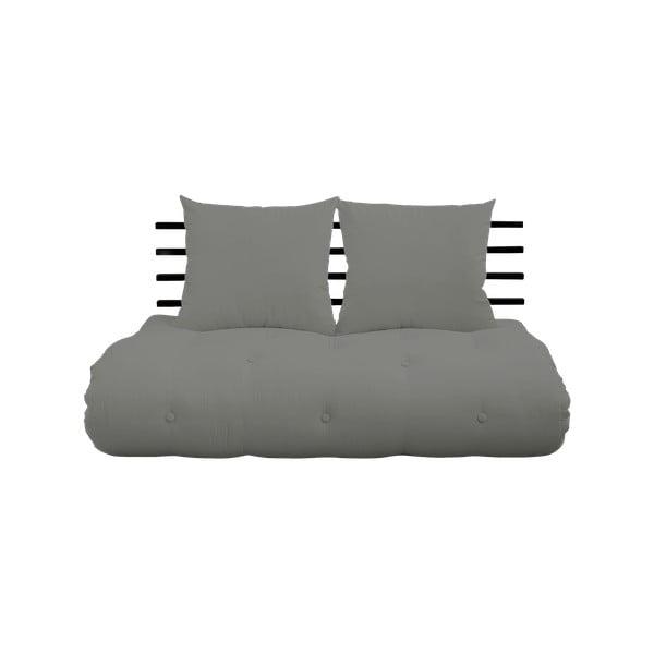 Shin Sano Black/Grey kinyitható kanapé - Karup Design