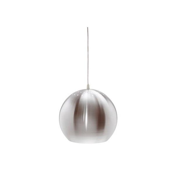 Stříbrné závěsné světlo Markslöjd Elba, 28cm