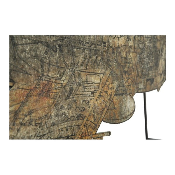 Nástěnná dekorace Mauro Ferretti Aviator, 87 x 47 cm