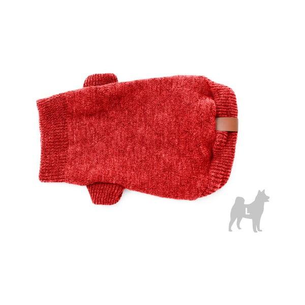 Pulover pentru câini Marendog Trip, mărime L, roșu